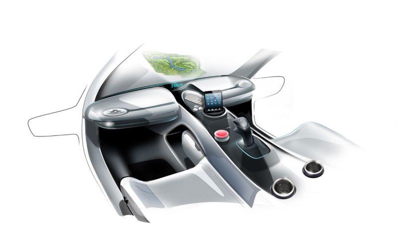 2013 Mercedes Benz Vision Golf Cart Design concept sports fw wallpaper