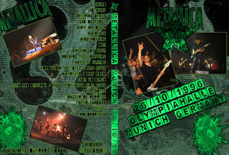 METALLICA thrash heavy metal fc wallpaper