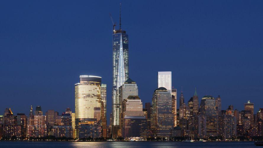 New York Buildings Skyscrapers wallpaper