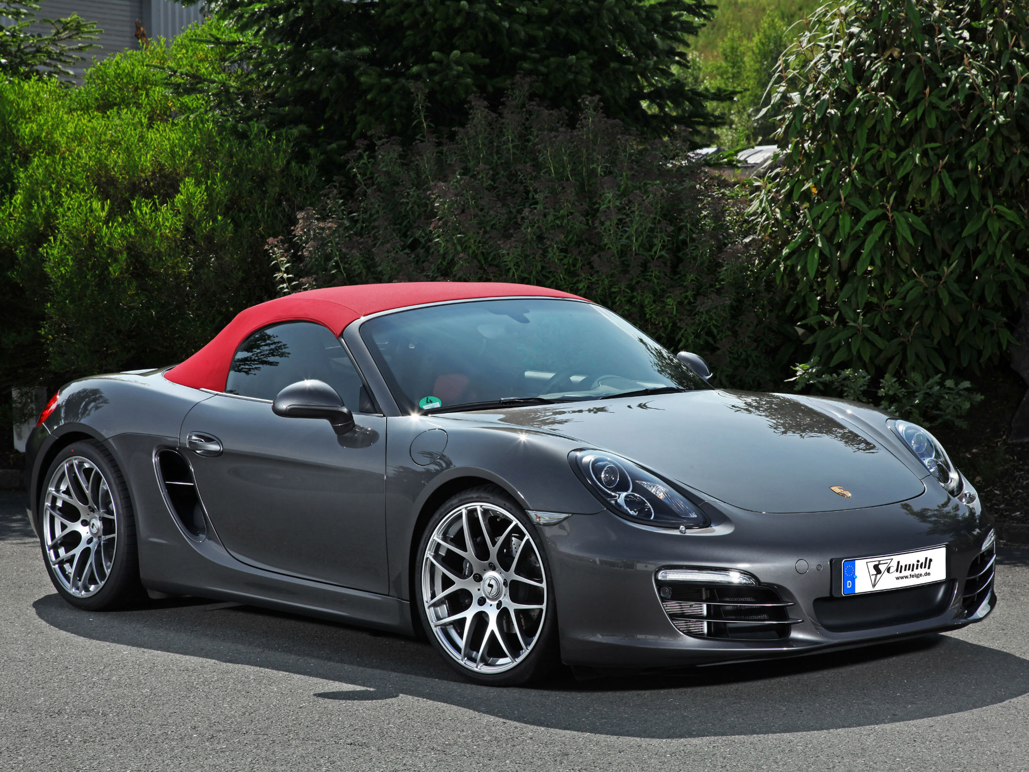 2013 schmidt revolution porsche boxster tuning wallpaper. Black Bedroom Furniture Sets. Home Design Ideas