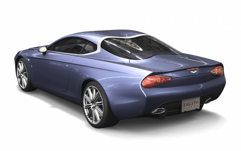 2013 Zagato Aston Martin DBS Coupe Centennial milano f wallpaper