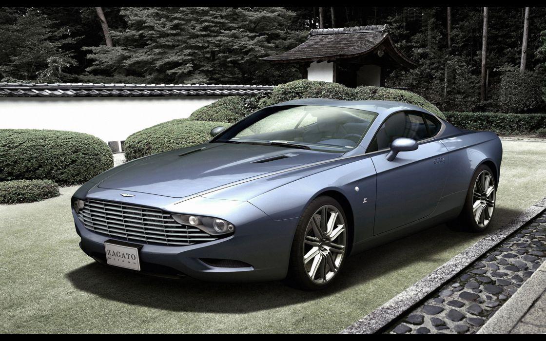 2013 Zagato Aston Martin DBS Coupe Centennial milano wallpaper