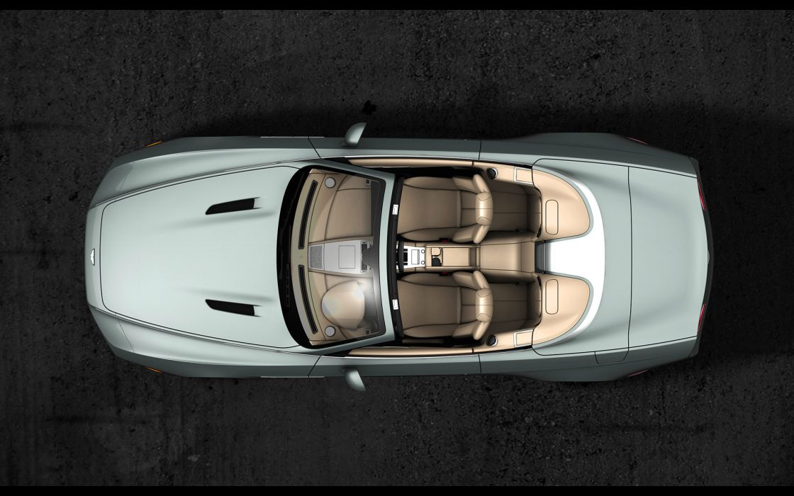 2013 Zagato Aston Martin DBS Spyder Centennial    f wallpaper