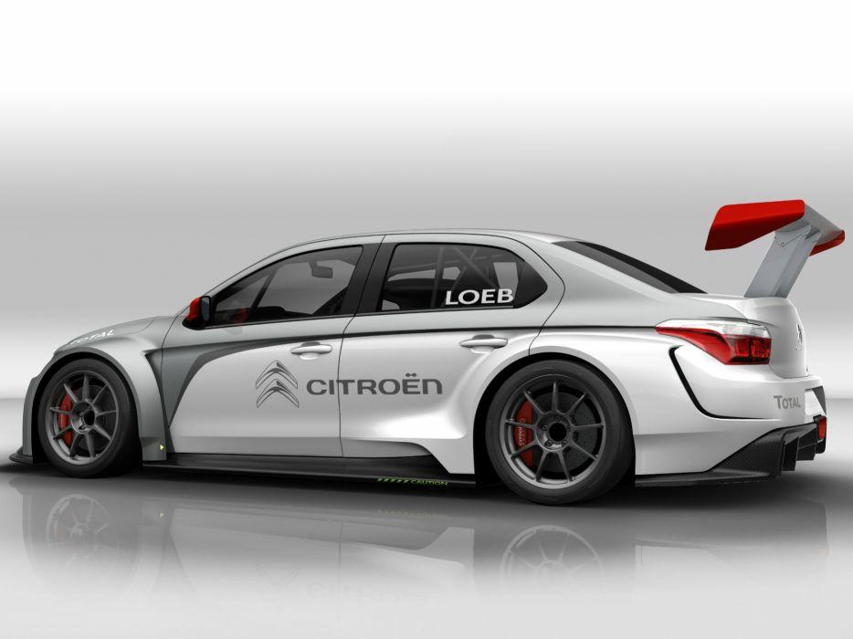 2014 Citroen C-Elysee WTCC race racing tuning   g wallpaper