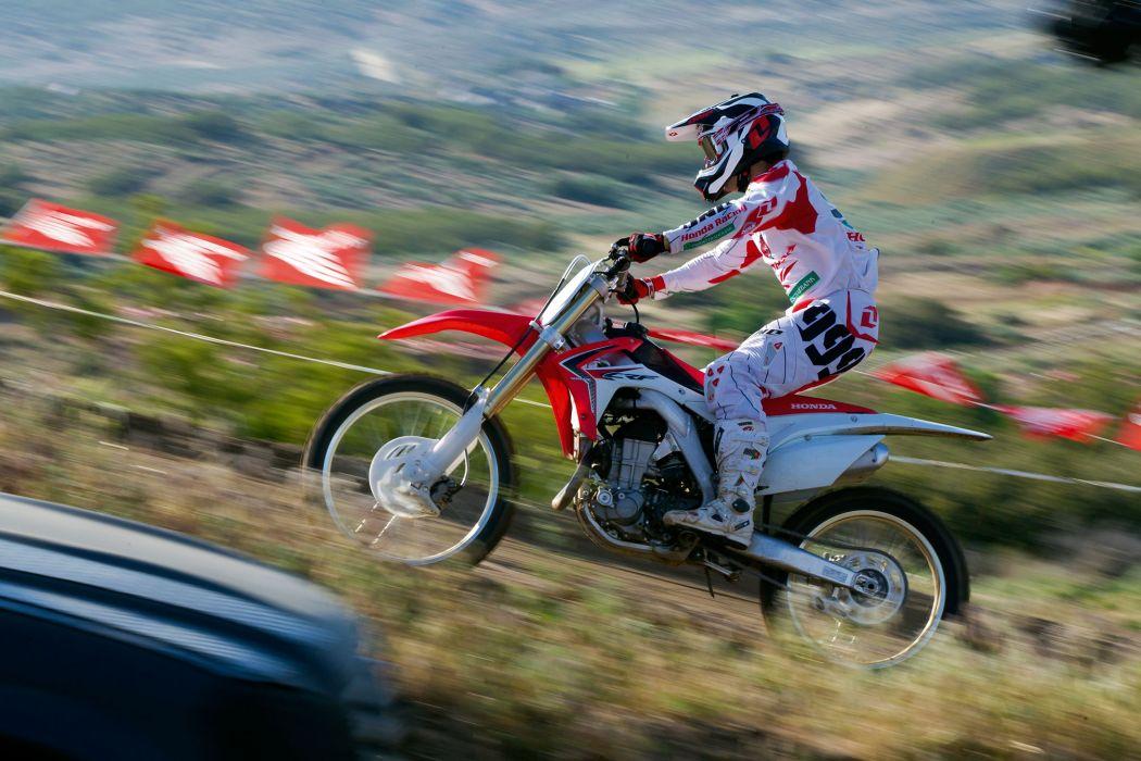 2014 Honda CRF450R dirtbike bike motorbike race racing        f wallpaper