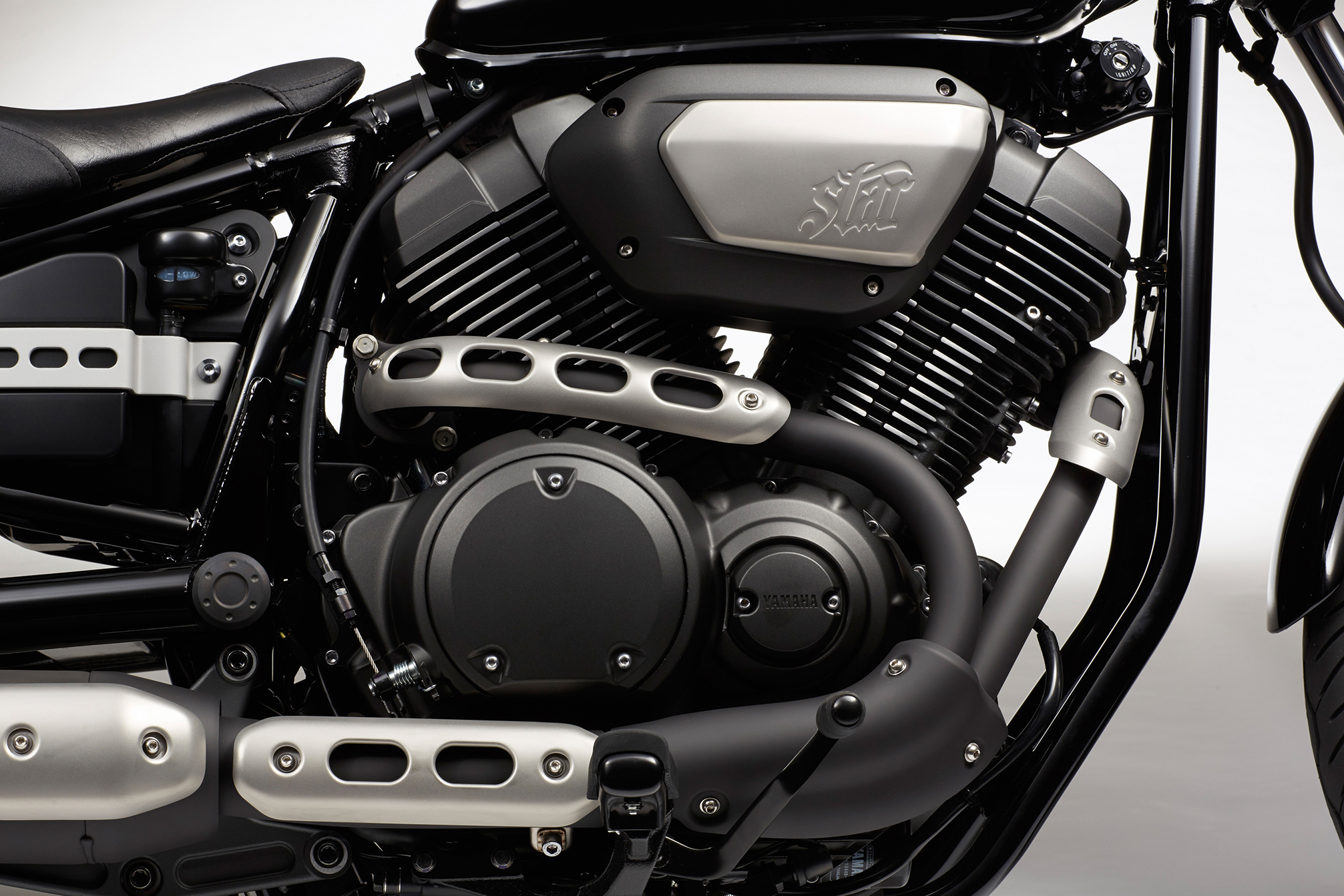 2014 Yamaha Bolt Bike Motorbike Engine Engines Wallpaper