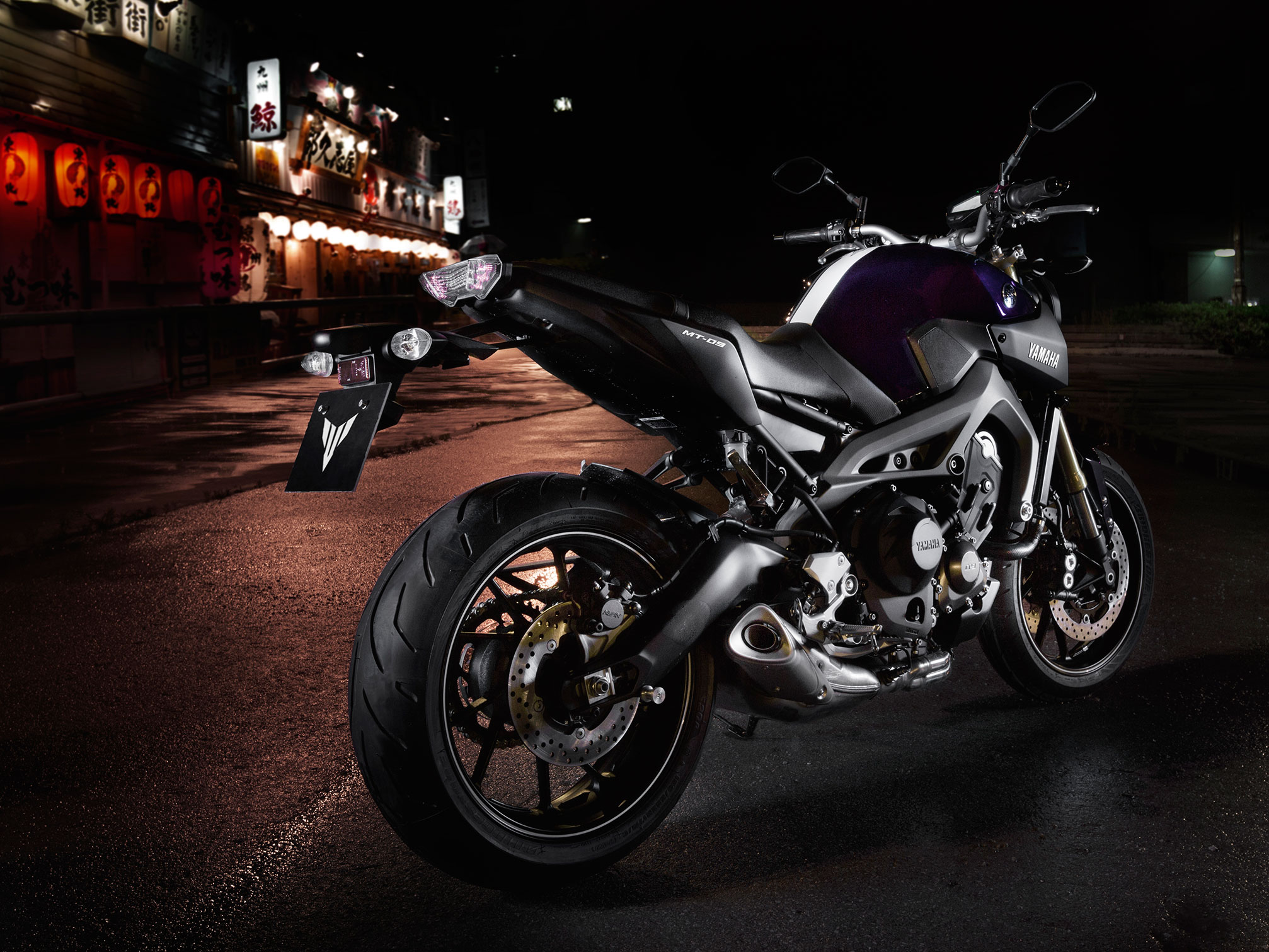 2014 Yamaha MT09 bike motorbike f wallpaper background