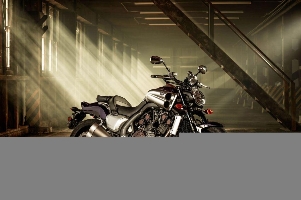 2014 Yamaha VMAX VMX17 superbike bike motorbike wallpaper