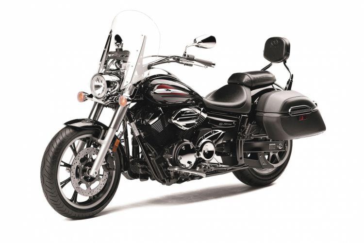2014 Yamaha V Star 950 Tourer Bike Motorbike F Wallpaper