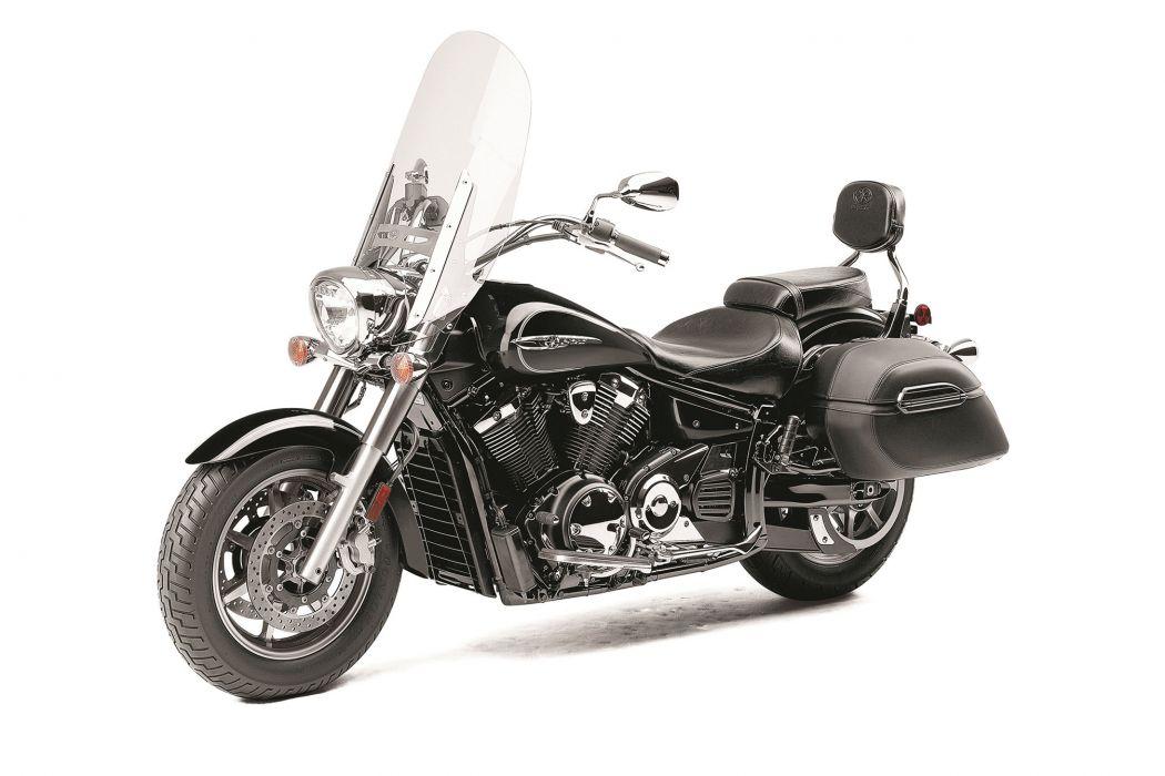2014 Yamaha V-Star 1300 Tourer bike motorbike     f wallpaper