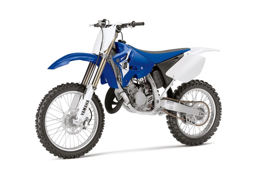 2014 Yamaha YZ125 2-Stroke bike motorbike dirtbike  f wallpaper