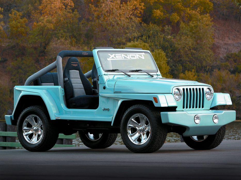 Xenon 1997-2006 Jeep T-J Wrangler W-W tuning 4x4 custom  g wallpaper