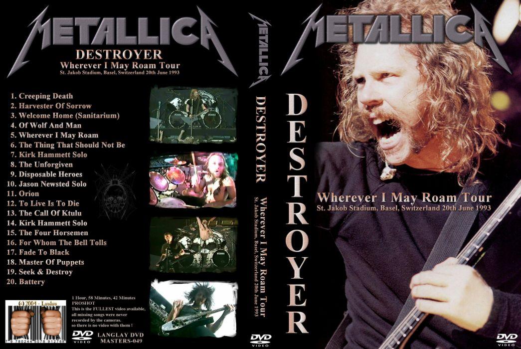 METALLICA thrash heavy metal   ry wallpaper