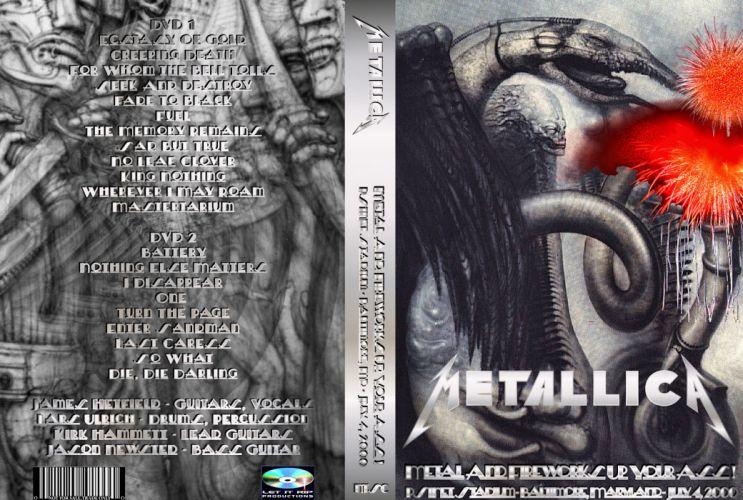 METALLICA thrash heavy metal to wallpaper