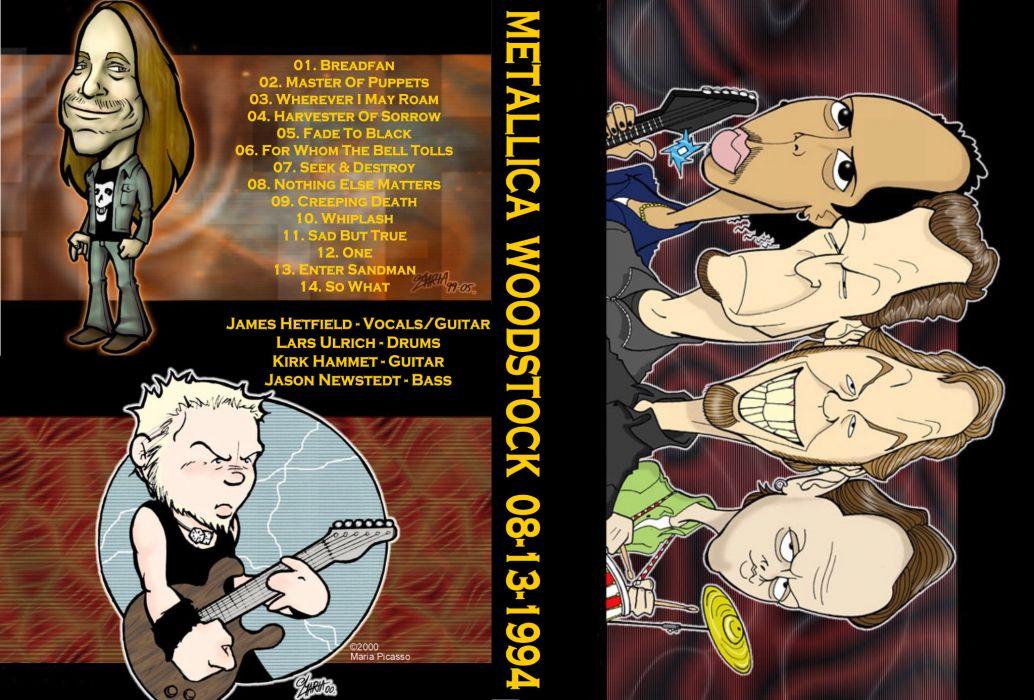 METALLICA thrash heavy metal jd wallpaper