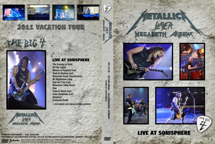 METALLICA thrash heavy metal poster posters concert concerts s wallpaper