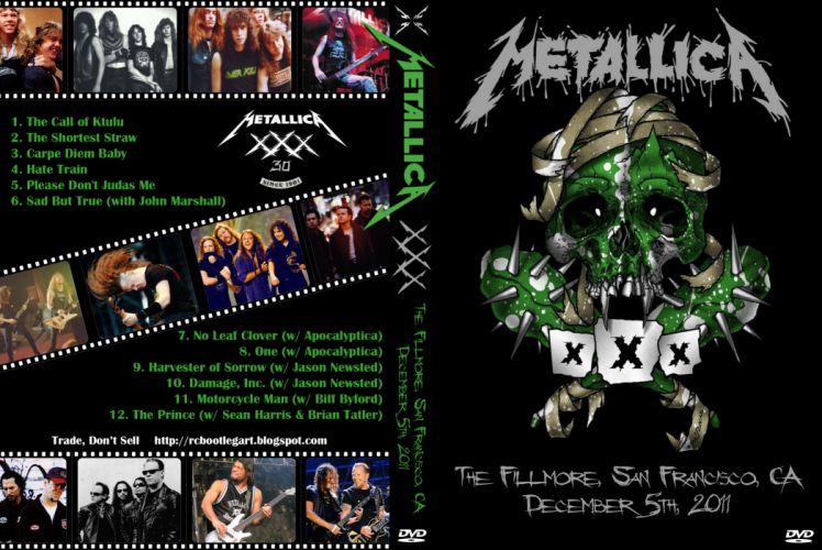 METALLICA thrash heavy metal poster posters concert concerts r wallpaper
