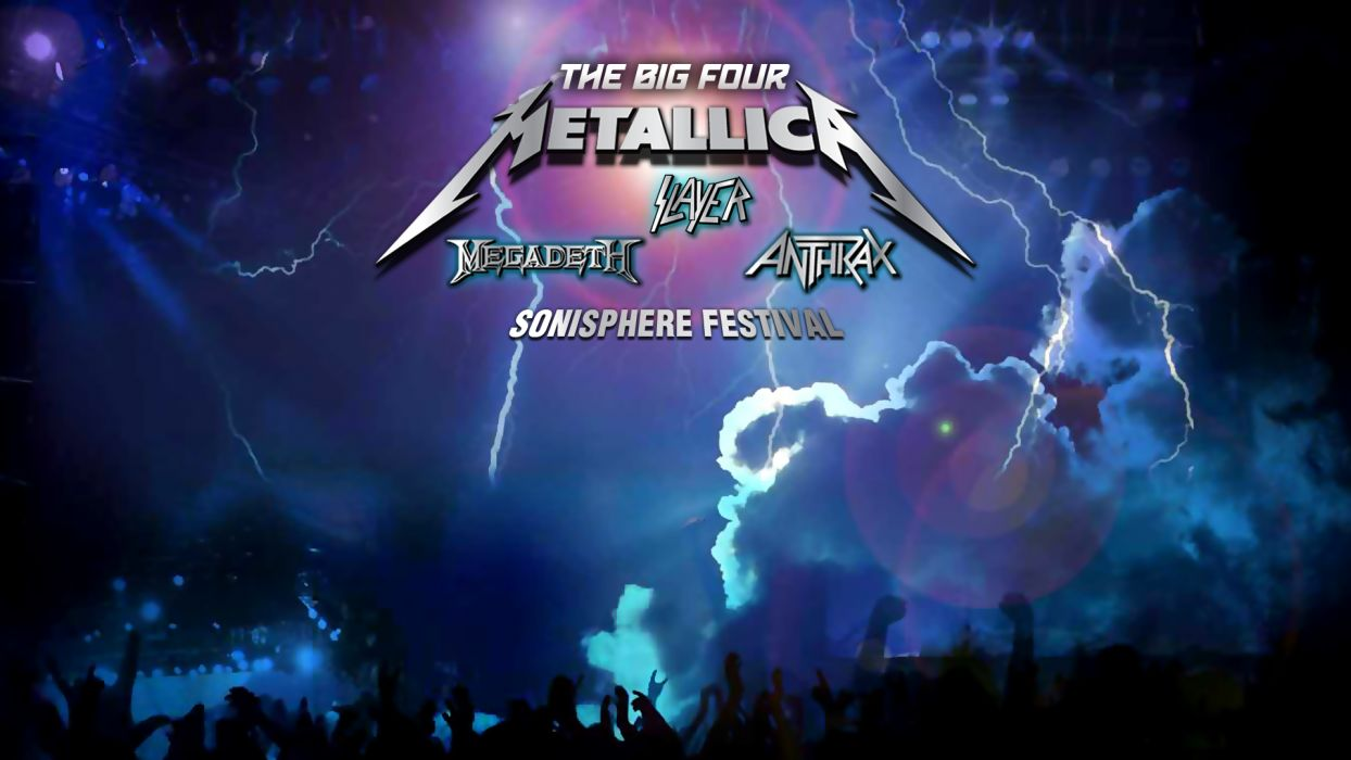 METALLICA thrash heavy metal poster posters concert concerts slayer anthrax megadeth   s wallpaper