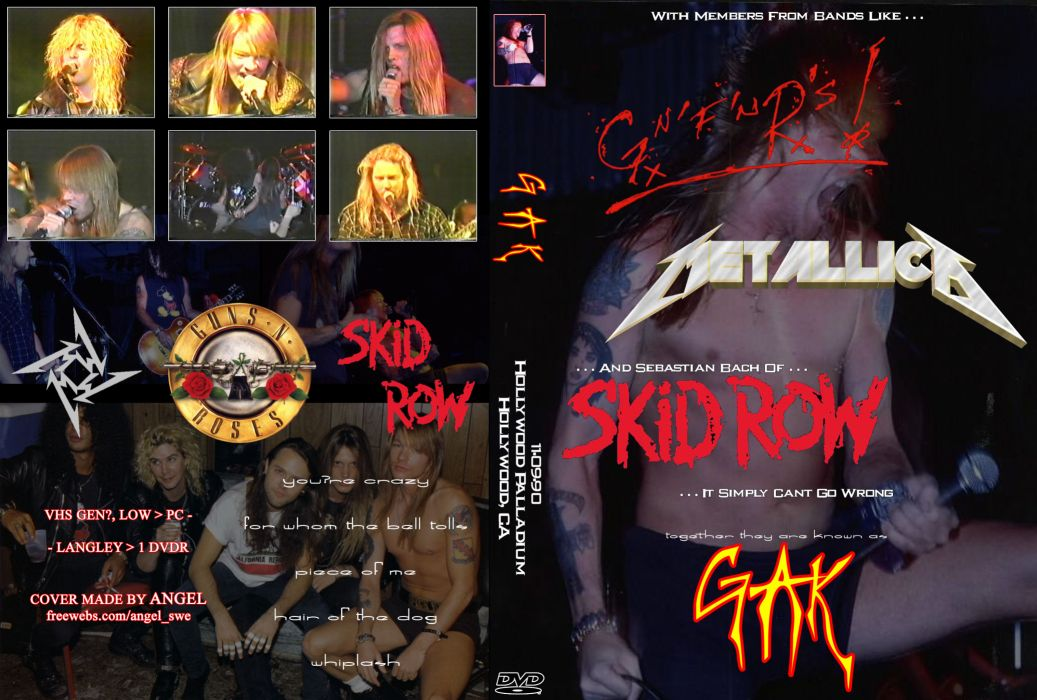 METALLICA thrash heavy metal skid row gnr guns roses concert concerts poster posters wallpaper