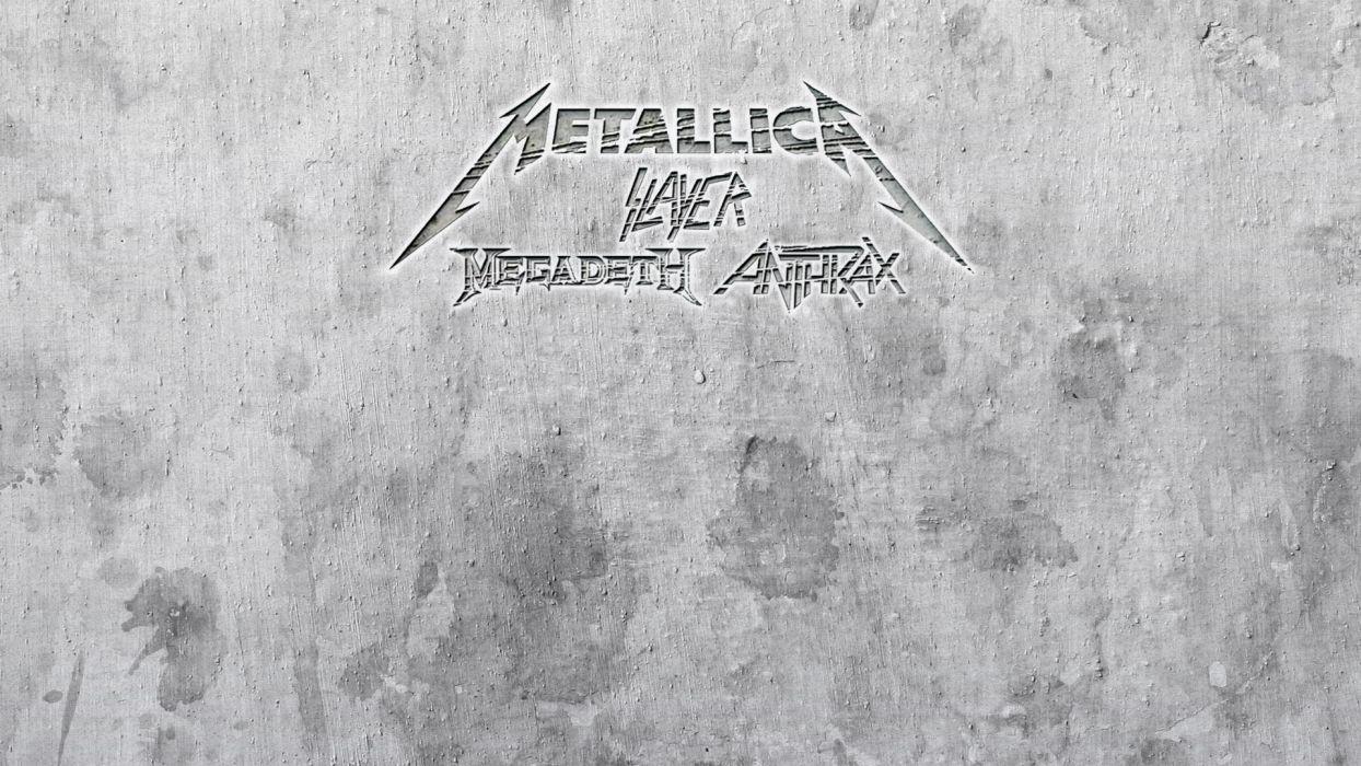 METALLICA thrash heavy metal slayer anthrax megadeth wallpaper
