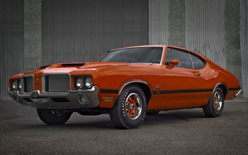 Oldsmobile Cutlass 442 Holiday Coupe 1972 muscle wallpaper
