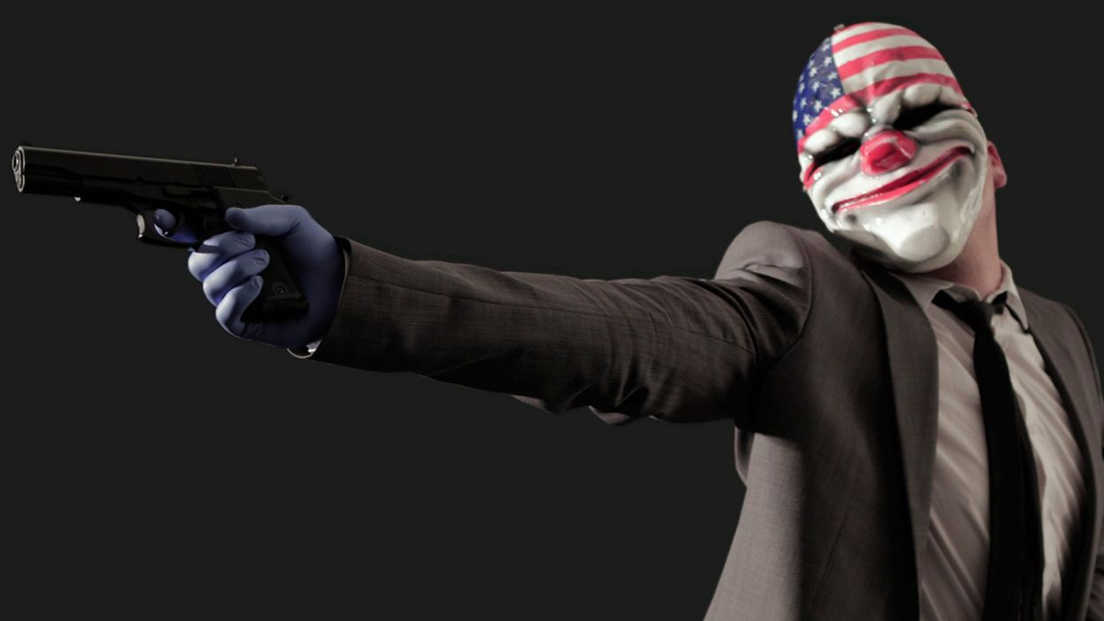 Payday Mask wallpaper