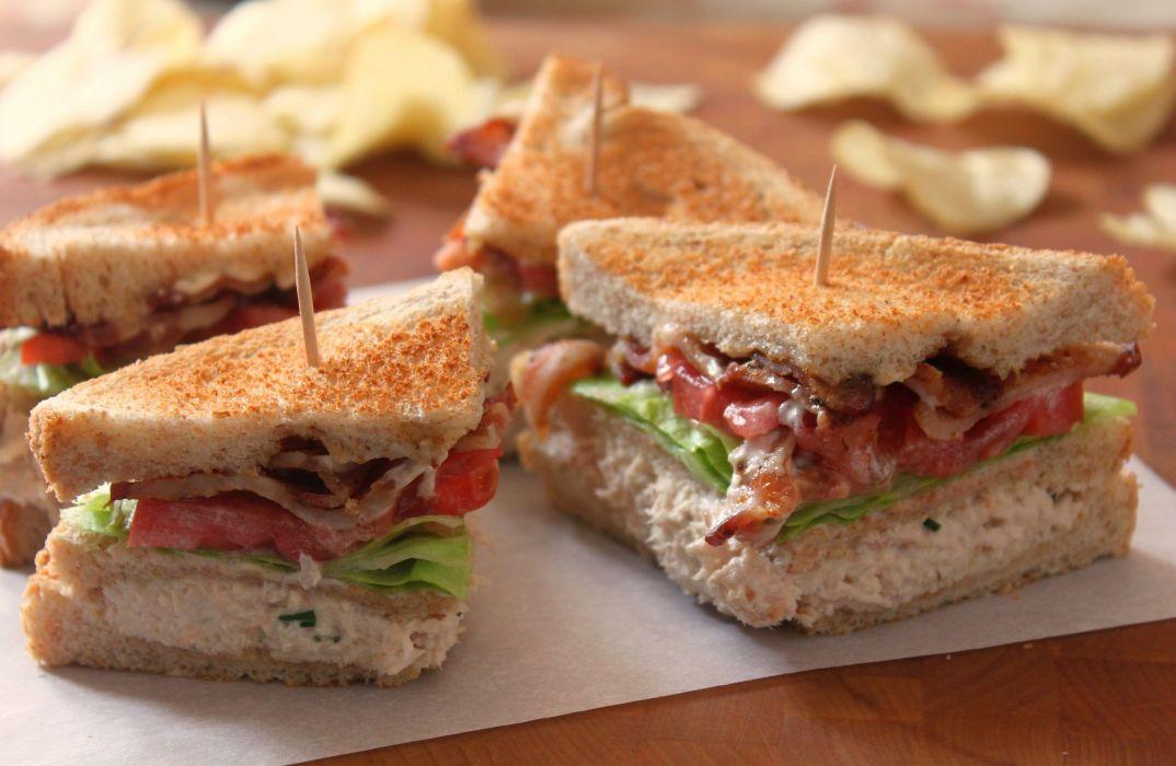 sandwish lunch macro bacon blt wallpaper