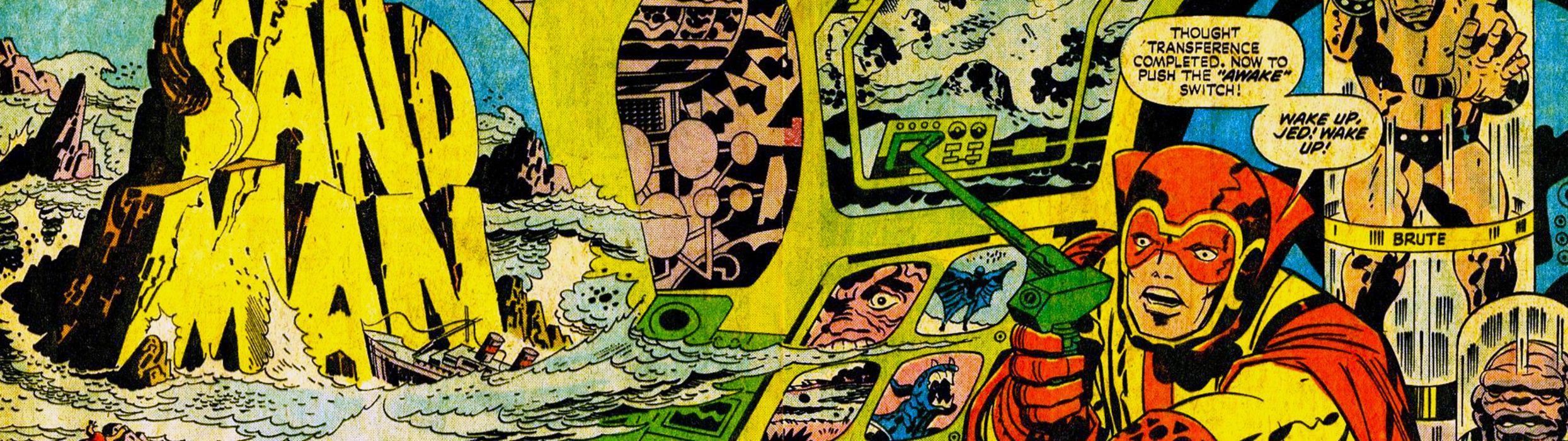 sandman superhero dual multi wallpaper
