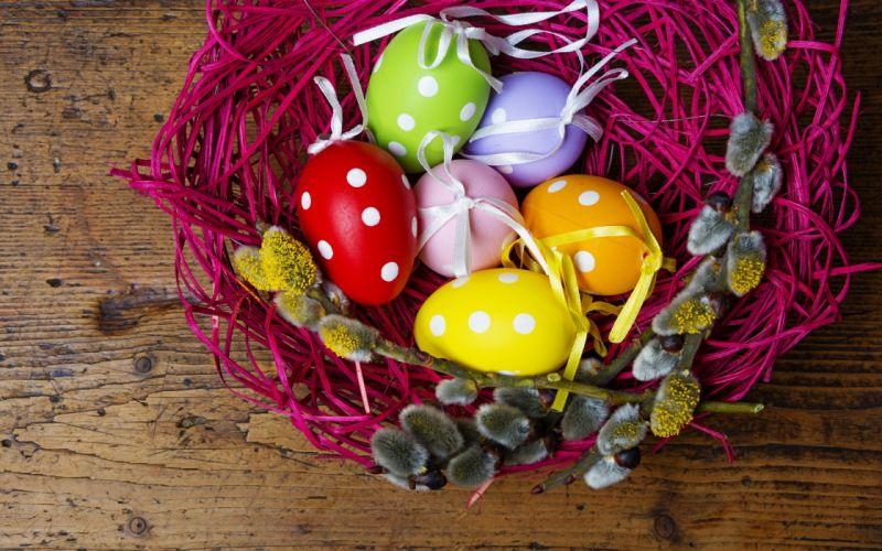 spring easter eggs f wallpaper
