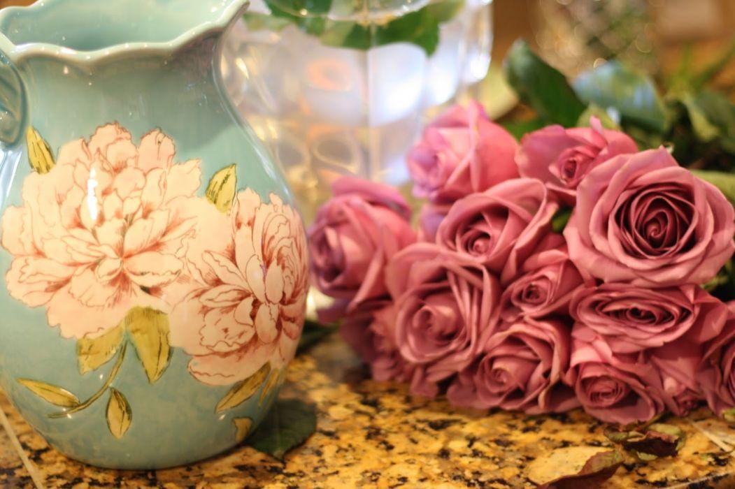 still life roses flower vase_JPG wallpaper