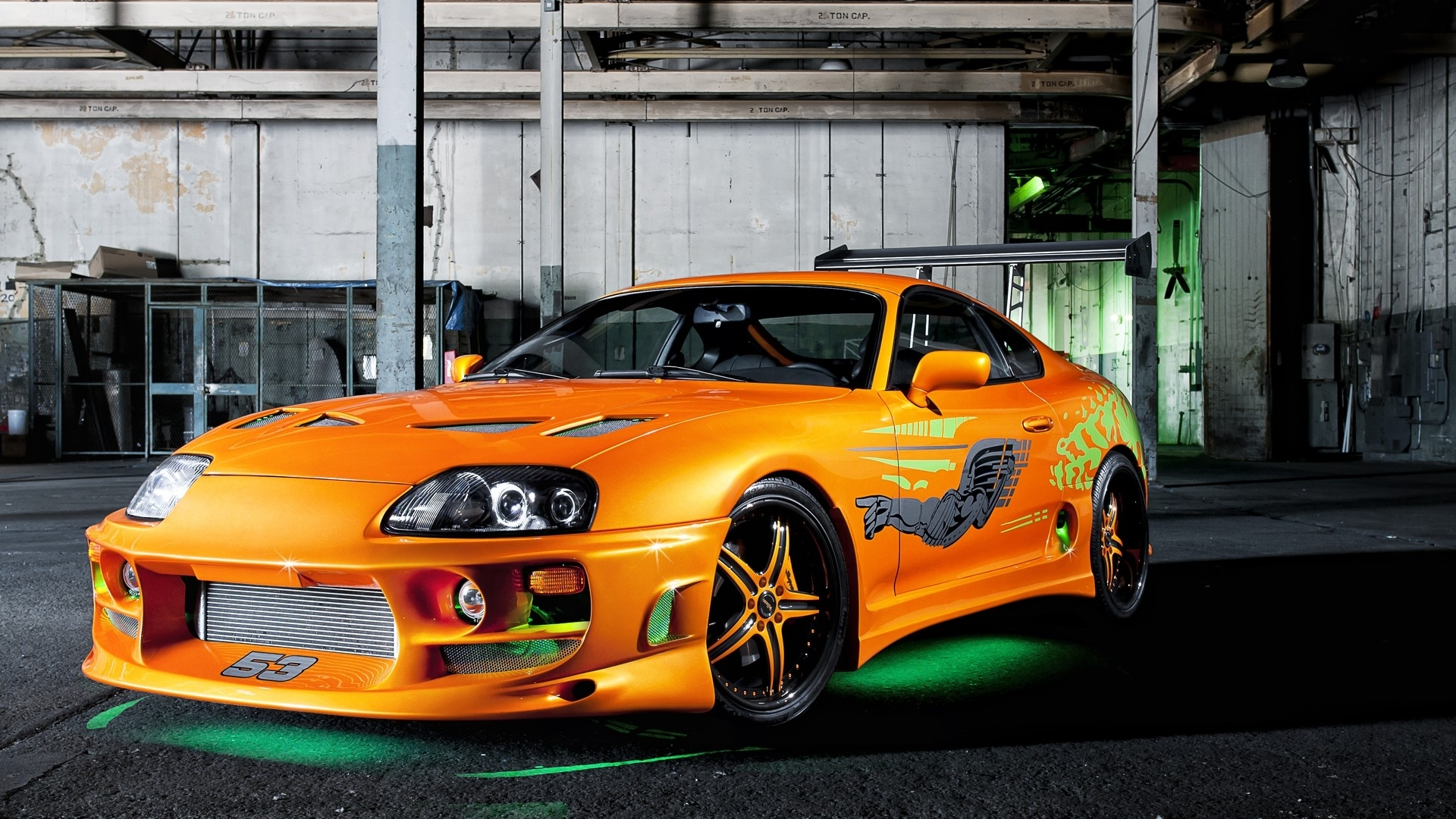 Toyota Of Orange >> Vehicles tuning toyota supra green neon the fast and the ...