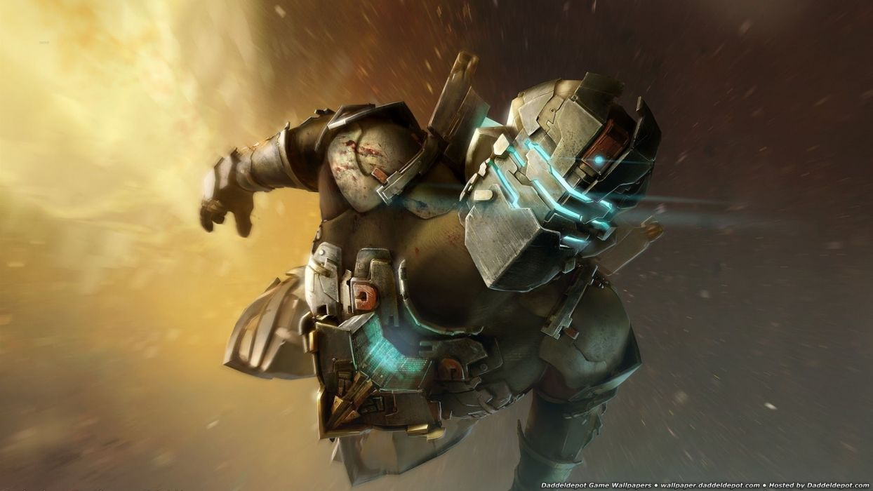 video games dead space Industry Space wallpaper