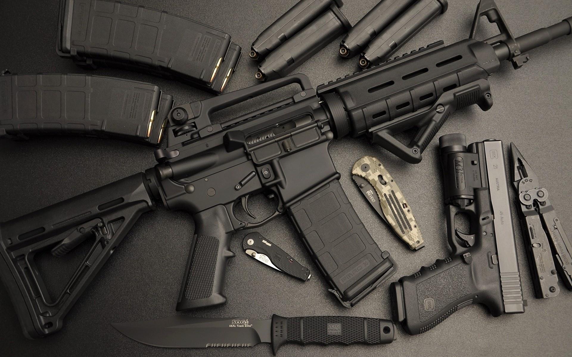 assault rifle ar 15 automatic weapon weapons gun guns pistol