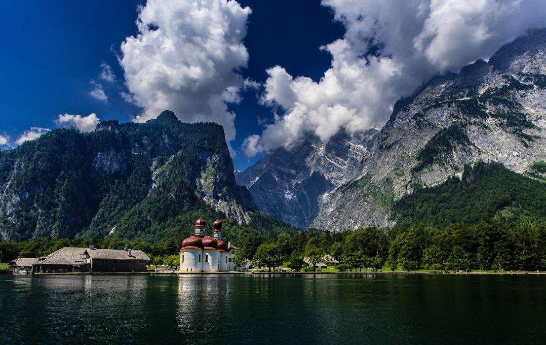 Bavarian Alps wallpaper