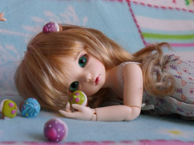 doll toy dolls toys bokeh blonde wallpaper