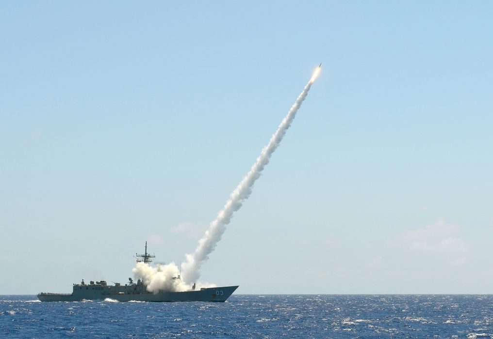 sea ship rocket launch military navy ocean weapon weapons wallpaper