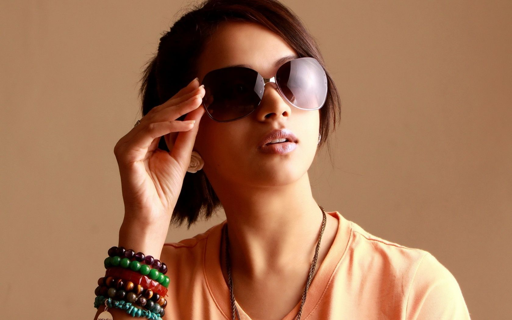 7c5a456718 Woman Girl Beauty Face Sunglasses Actress Bhavana India wallpaper Image  source from this