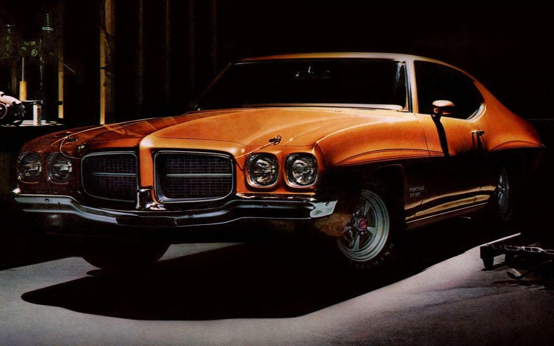 Pontiac  LeMans  GT-37  Hardtop  Coupe  1971 muscle wallpaper
