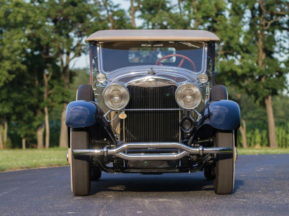 1929 Lincoln Model-L Dual Cowl Phaeton Locke luxury retro    h wallpaper