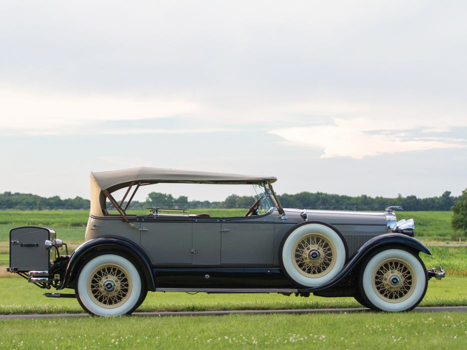 1929 Lincoln Model-L Dual Cowl Phaeton Locke luxury retro   g wallpaper