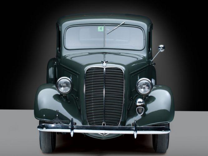 1937 Ford V8 Deluxe Pickup truck retro v-8 ge wallpaper