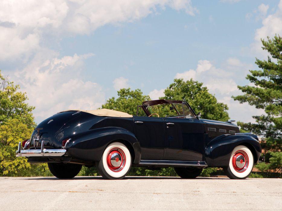 1940 LaSalle Convertible Sedan retro  g wallpaper