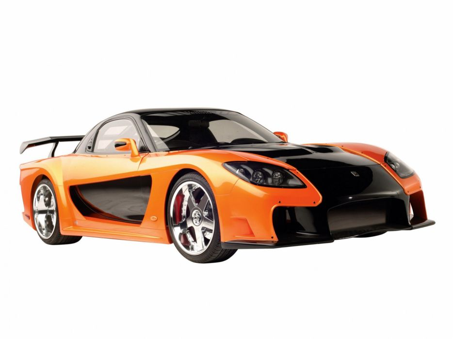 1993 Veilside Fortune Mazda RX-7 FD supercar tuning    h wallpaper