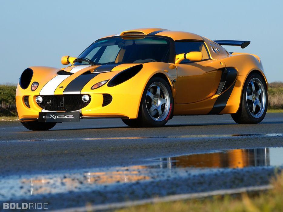 2007 Lotus Sport Exige Cup supercar wallpaper