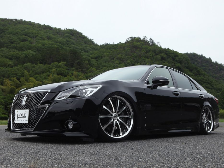 2013 World S210 Toyota Crown Athlete Bold tuning wheel   g wallpaper