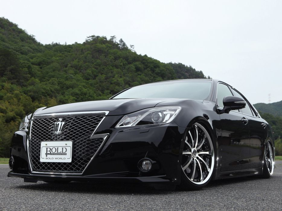 2013 World S210 Toyota Crown Athlete Bold tuning wheel wallpaper