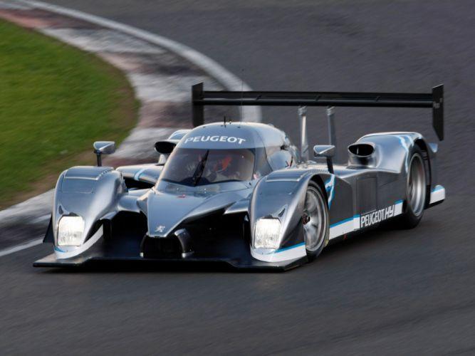 2008 Peugeot 908 HY racing race le-mans g wallpaper
