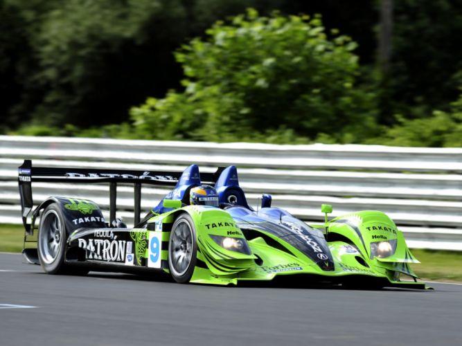 2008 Acura ARX-01b le-mans race racing ge wallpaper