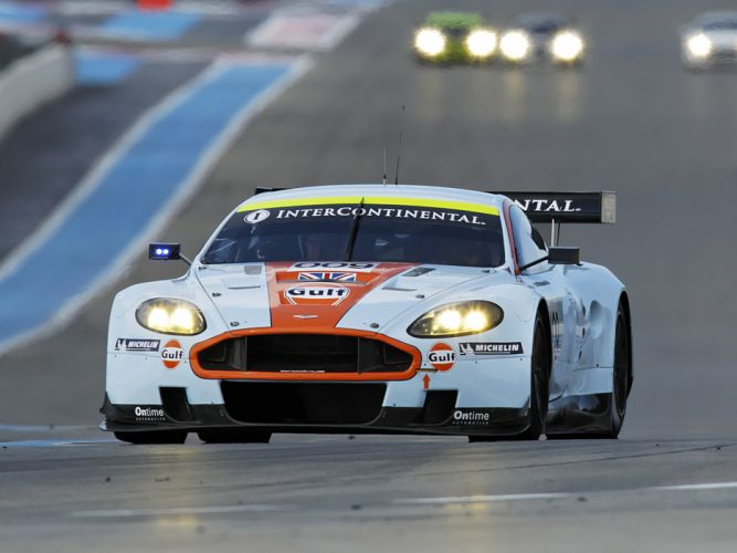 2008 Aston Martin DBR9 Gulf Oil Livery race racing f wallpaper