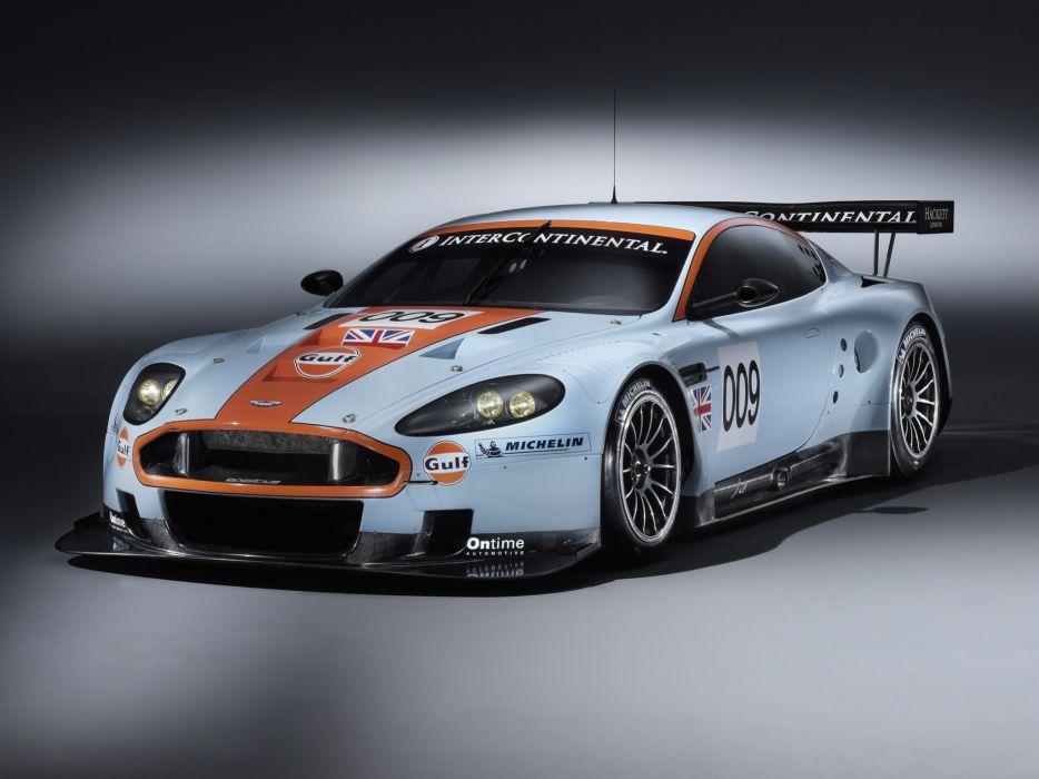 2008 Aston Martin DBR9 Gulf Oil Livery race racing   g wallpaper